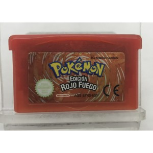 JUEGO POKEMON EDICION ROJO FUEGO (GAME BOY ADVANCE)