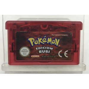 JUEGO POKEMON EDICION RUBI (GAME BOY ADVANCE)