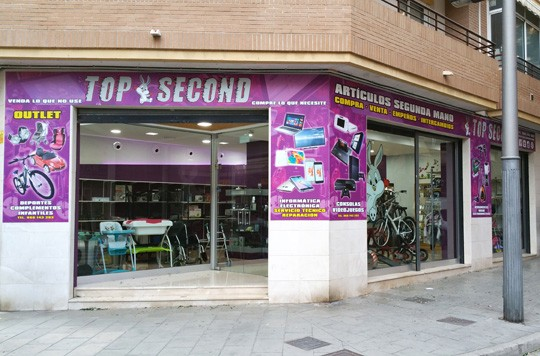 Top Second Company & Shop España